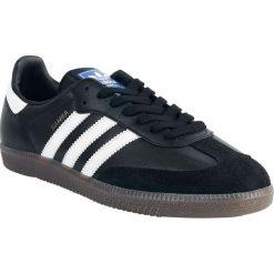 Adidas Samba Buty sportowe czarny/biały. Białe buty skate męskie Adidas, z materiału, z paskami, trekkingowe. Za 324,90 zł.
