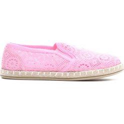 Buty sportowe dziewczęce: Różowe Espadryle High Enough