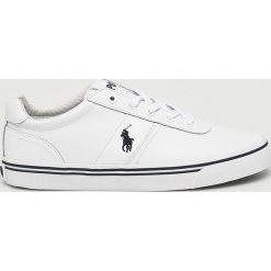 Polo Ralph Lauren - Buty. Szare buty skate męskie Polo Ralph Lauren, z materiału, na sznurówki. Za 429,90 zł.