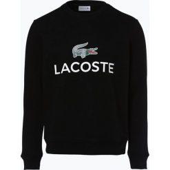 Lacoste - Męska bluza nierozpinana, czarny. Szare bluzy męskie rozpinane marki Lacoste, z bawełny. Za 449,95 zł.