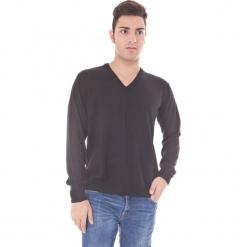 Sweter w kolorze czarnym. Niebieskie swetry klasyczne męskie marki GALVANNI, l, z okrągłym kołnierzem. W wyprzedaży za 129,95 zł.