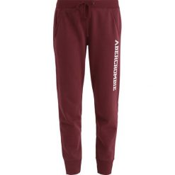 Spodnie dresowe damskie: Abercrombie & Fitch DOORBUSTER JOGGER  Spodnie treningowe bordeux