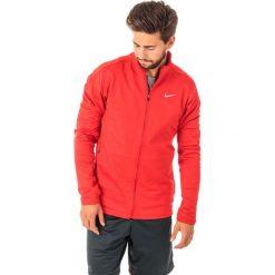 Kurtki sportowe męskie: Nike Kurtka męska Dri-Fit Therma Running czerwony r. S (683582 657)