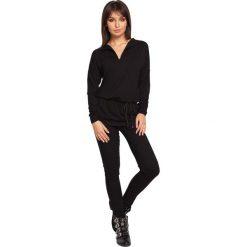 CHARITY Tunika z wiązaniem - czarna. Czarne tuniki damskie BE, na co dzień, l, z jeansu. Za 136,99 zł.