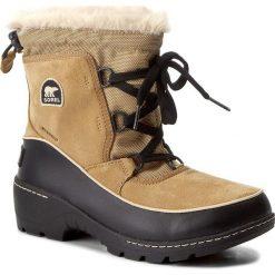 Śniegowce SOREL - Youth Torino III NY1892 Curry/Black 373. Brązowe buty zimowe chłopięce Sorel, z gumy. W wyprzedaży za 259,00 zł.