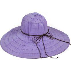 Kapelusz damski Słońce pustyni fioletowy (kp2134-5). Fioletowe kapelusze damskie Art of Polo. Za 36,52 zł.