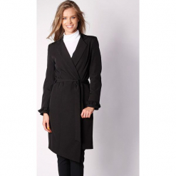 Płaszcz w kolorze czarnym. Zielone płaszcze damskie marki Last Past Now, xs, w paski. W wyprzedaży za 239,95 zł.