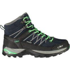 Buty trekkingowe damskie: Campagnolo Buty unisex Rigel Mid Wmn Trekking Wp czarno-miętowe r. 38