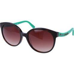 """Okulary przeciwsłoneczne damskie aviatory: Okulary przeciwsłoneczne """"JC589S 56F"""" w kolorze brązowym"""