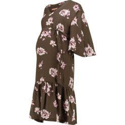 Sukienki hiszpanki: mint&berry mom FLORAL SOFT TRENCH  Sukienka letnia khaki