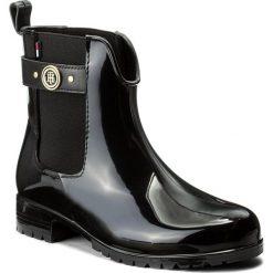 Buty zimowe damskie: Kalosze TOMMY HILFIGER – Oxley 13R FW0FW01294 Black 990
