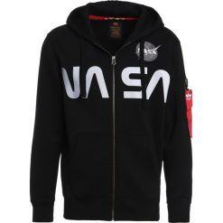Bejsbolówki męskie: Alpha Industries NASA  Bluza rozpinana black