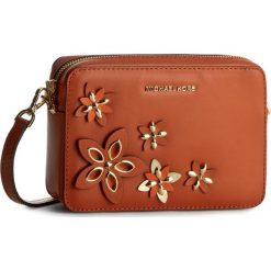 Torebka MICHAEL MICHAEL KORS - Flowers 32H6GFAM2T  Orange. Brązowe listonoszki damskie MICHAEL Michael Kors, ze skóry. W wyprzedaży za 759,00 zł.
