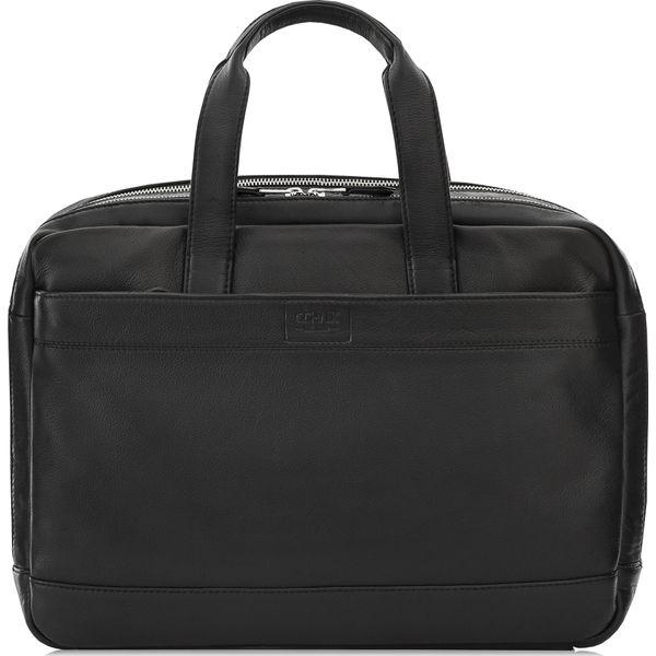 9dfb1c270739d Torba męska - Czarne torby na laptopa marki Ochnik