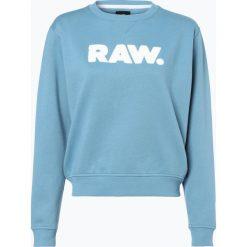 Bluzy damskie: G-Star - Damska bluza nierozpinana, niebieski