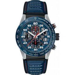 ZEGAREK TAG HEUER CARRERA CAR2A1N.FT6100. Niebieskie zegarki męskie TAG HEUER, ceramiczne. Za 23790,00 zł.