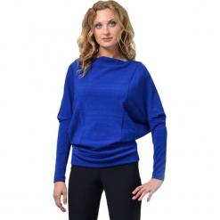 Tunika w kolorze niebieskim. Niebieskie tuniki damskie z długim rękawem Lila Kass, xxs, z dekoltem w łódkę. W wyprzedaży za 189,95 zł.