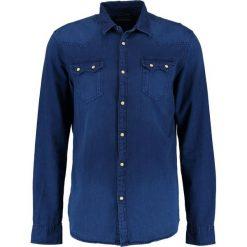Koszule męskie na spinki: Scotch & Soda SAWTOOTH Koszula washed indigo