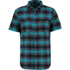 Koszule męskie na spinki: HUF OMBRE PLAID  Koszula aqua