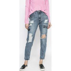 Rock Angel - Jeansy. Niebieskie jeansy damskie relaxed fit marki House, z jeansu. W wyprzedaży za 119,90 zł.