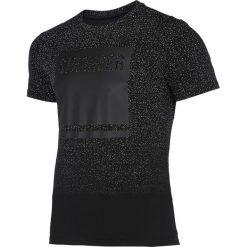T-shirty męskie z nadrukiem: T-shirt męski TSM217 – głęboka czerń