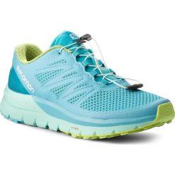 Buty SALOMON - Sense Pro Max W 400701 25 W0 Blue Curacao/Beach Glass/Acid Lime. Niebieskie buty do biegania damskie Salomon, z materiału. W wyprzedaży za 449,00 zł.