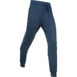 Spodnie dresowe damskie: Spodnie dresowe termoaktywne funkcyjne, długie bonprix ciemnoniebieski melanż