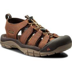Sandały KEEN - Newport 1018788 Infield/ Mulch. Brązowe sandały męskie skórzane Keen. W wyprzedaży za 299,00 zł.
