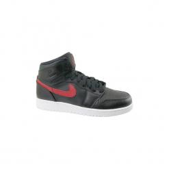 Buty Dziecko Nike  1 Retro High BG 705300-012. Czarne trampki chłopięce Nike, retro. Za 329,99 zł.