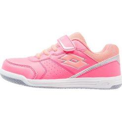 Buty sportowe damskie: Lotto SET ACE Obuwie do tenisa Outdoor coral fluo/rose neon