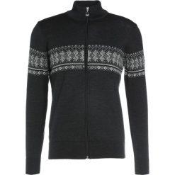 Swetry klasyczne męskie: Dale of Norway HOVDEN MASCULINE  Sweter dark charcoal/light charcoal/smoke/black