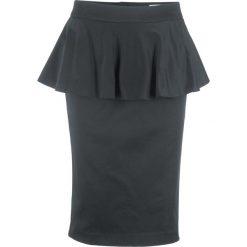 Spódniczki: Spódnica z baskinką, z kolekcji Maite Kelly bonprix czarny