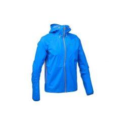 Kurtka turystyczna FH500 Helium Rain męska. Niebieskie kurtki męskie marki KIPSTA. Za 299,99 zł.