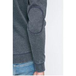 Wrangler - Bluza. Szare bluzy męskie rozpinane Wrangler, l, z bawełny, bez kaptura. W wyprzedaży za 129,90 zł.