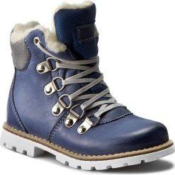 Buty zimowe chłopięce: Trapery MIDO – 368 Niebieski