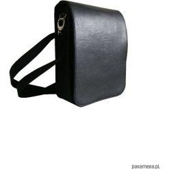 Torby na ramię męskie: Męska torba na ramię z filcu i eko skóry