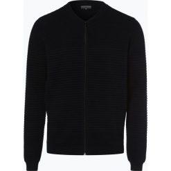 Finshley & Harding - Kardigan męski, niebieski. Czarne swetry rozpinane męskie marki Finshley & Harding, w kratkę. Za 229,95 zł.