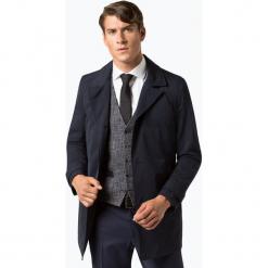 HUGO - Płaszcz męski – Midais1841, niebieski. Brązowe płaszcze na zamek męskie marki Cropp, na zimę, l, sportowe. Za 949,95 zł.