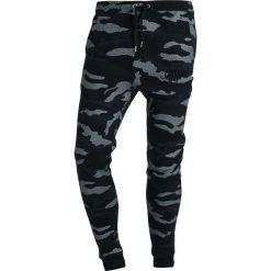 Spodnie dresowe męskie: SIKSILK SIKSILK Spodnie treningowe black camo