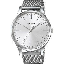 Casio - Zegarek LTP.E140D.7AEF. Czarne zegarki męskie marki Fossil, szklane. Za 399,90 zł.