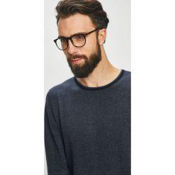 Pierre Cardin - Sweter. Czarne swetry klasyczne męskie marki Pierre Cardin, l, z bawełny, z okrągłym kołnierzem. W wyprzedaży za 299,90 zł.