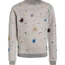 Bluzy chłopięce rozpinane: Scotch R'Belle ALLOVER GLITTER STARS Bluza grey melange