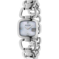 ZEGAREK GUCCI G-GUCCI YA125502. Białe zegarki damskie GUCCI, ze stali. Za 3740,00 zł.