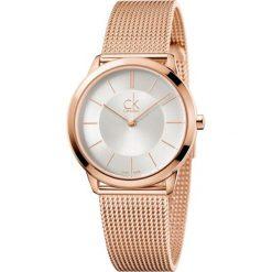 ZEGAREK CALVIN KLEIN Minimal K3M22626. Szare zegarki męskie Calvin Klein, szklane. Za 1169,00 zł.