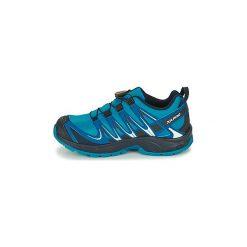 Buty Dziecko Salomon  XA PRO 3D CSWP J. Niebieskie buty sportowe chłopięce Salomon. Za 292,71 zł.