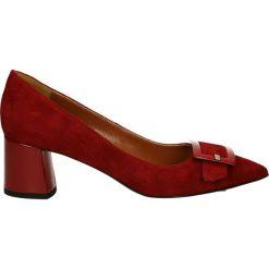 Czółenka - 5974 CAM ROSS. Brązowe buty ślubne damskie Venezia, ze skóry. Za 239,00 zł.