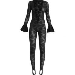 SAVAGE X FENTY CATSUIT Body black. Czarne bluzki body SAVAGE X FENTY, z materiału. Za 519,00 zł.
