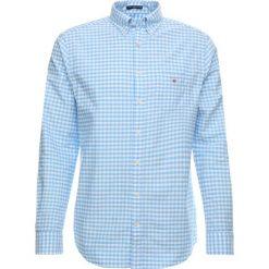 GANT THE OXFORD GINGHAM Koszula capri blue. Niebieskie koszule męskie marki Polo Ralph Lauren, m, z bawełny, polo. Za 379,00 zł.