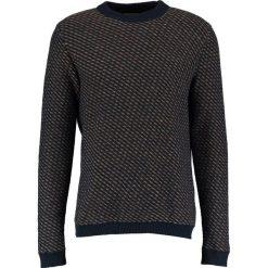 Swetry klasyczne męskie: Selected Homme SHHTWILL HIGH NECK Sweter dark sapphire/aluminium/glazed ging