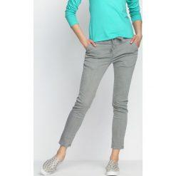 Spodnie damskie: Szare Jegginsy For Keeps